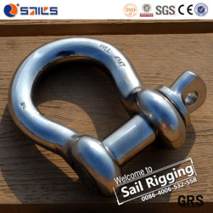 US Standard High Polished Stainless Screw Pin Anchor Shackle pictures & photos