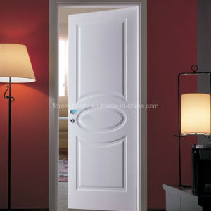 Internal HDF / MDF Moulded Panel Door White Door pictures & photos