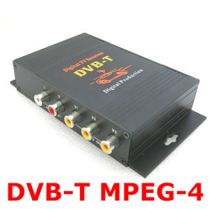 Mobile Digital TV Tuner Receiver MPEG-4 Car DVB-T (M-588X)
