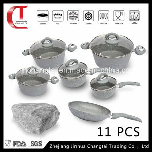 11 PCS Forged Aluminum Cookware Set