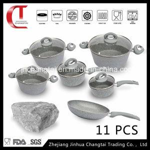 11 PCS Forged Aluminum Cookware Set
