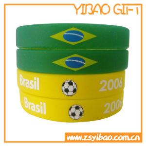 Discount Rubber Customized Embossed Wristband (YB-LY-WR-01) pictures & photos