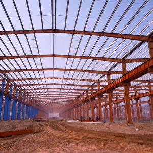 Light Steel Structure for Warehouse/Workshop / Mild Steel (STC-G008)