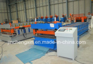Galvanized Steel Roofing Roll Forming Machine pictures & photos