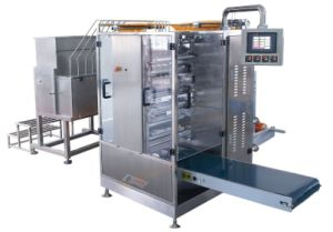 Catsup Four-Side Sealing & Multi-Line Packing Machine (DXDO-J500E) pictures & photos