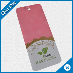 Pink Cardboard Swing Hang Tags for Women′s Clothing/Promotional Gift pictures & photos