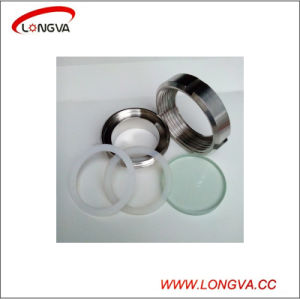 Stainless Steel 316L Sanitary Pipe Fitting Union Type Sight Glass pictures & photos