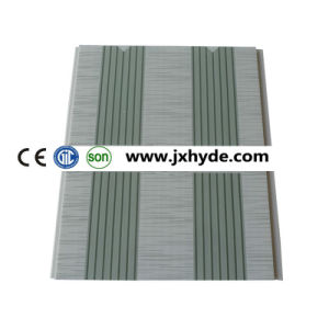 200mm*5mm/6mm/7mm Light Weight Interior Material PVC Panel for Ceiling (RN-181) pictures & photos