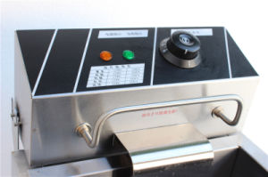Catering Equipment Manufacturer Stainless Steel 304 Commercial Used Deep Fryer pictures & photos