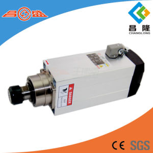 6kw 5.5A Square Air Cooling CNC Spindle with Er32 Collet pictures & photos