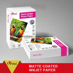 High Quality Inkjet Glossy A4 Photo Paper Matte Coated Paper pictures & photos