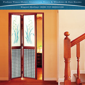 Classic Aluminum Folding Door with 2 Panels pictures & photos