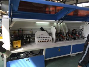 Man Made Board/ Decorative Board/ Particle Board Edge Processing Woodworking Machine pictures & photos