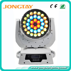 36PCS 10W 4in1 LED Wash Zoom Moving Head with 3 Virtual Color Wheel (JT-224)