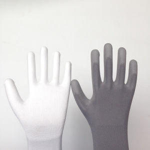 Poly Work Gloves with PU Coating