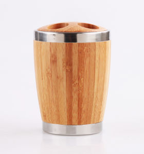 Popular Natural Bamboo Toothbrush Holder for Daily Use pictures & photos