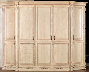 Solid Wood Wardrobe Design (YBW-6) pictures & photos