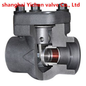 Forged Steel Spring Lift High Temperature Welding Check Valve pictures & photos