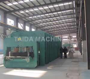 PLC Steel Cord Rubber Conveyor Belt Vulcanizing Press Machine Vulcanizer pictures & photos