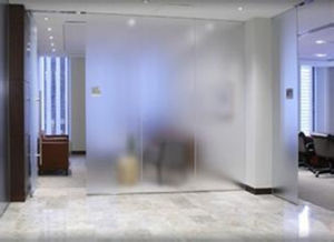 Attractiv E Acid Etched Glass for Background Wall pictures & photos