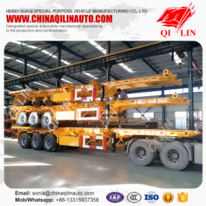 China Supplier Tri-Axle 40FT Shipping Chassis Trailer Price pictures & photos