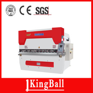 We67k 125/3200 Electrohydraulic Synchronous CNC Press Brake pictures & photos