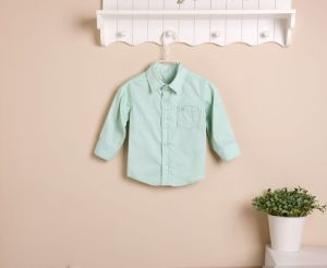 2013 Mom and Bab New Arrival Autumn Long Sleeves Boy′s Shirt, 100% Cotton Baby Clothes, Children′s Wear, Kid′s Shirt