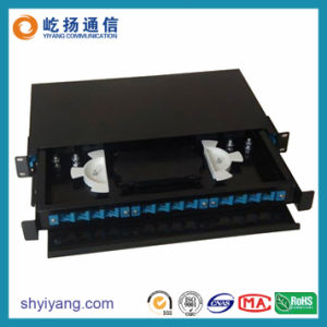 Drawer Type Rack Mounted Fiber Optic Terminal Box
