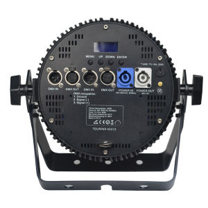 18X10W RGBWA 5in1 Professional Stage LED PAR Light with Ce and RoHS pictures & photos