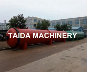 PLC Controlled Siemenz Extruded Rubber Products Autoclave Vulcanizing Tank Machine pictures & photos
