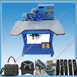 2017 Cheap Price Popular Hot Fix Rhinestone Machine pictures & photos