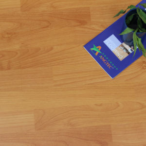 Nature Grain Yellow Color Laminate Flooring pictures & photos