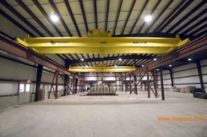 Electric Double Girder Bridge Crane 10 Ton Overhead Crane Engine Crane pictures & photos