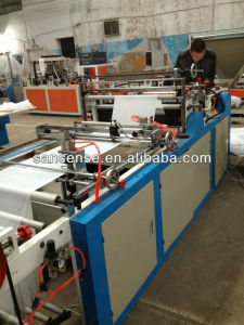 Zipper Bag Forming Zipper Bag Making Machine pictures & photos