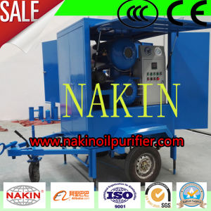 Series Zym-200 Trailer Type Transformer Oil Purifier Recycling Device pictures & photos