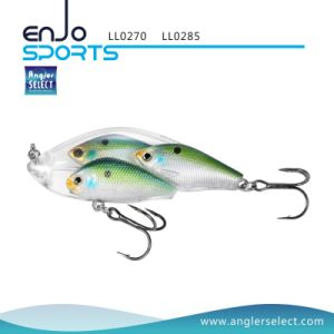 Fishing Tackle School Fish Lipless Shallow Fishing Lure with Bkk Treble Hooks (LL0270) pictures & photos