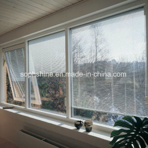 Window Blinds Tilted & Lifted by Magnetic Handle Between Double Hollow Glass pictures & photos