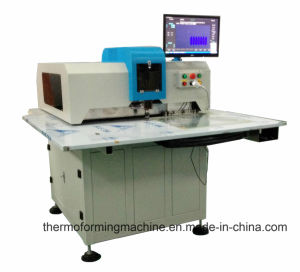 High Speed CNC Leather Hole Punching Processing Cutting Machine of Shoe/Handbag/Seats pictures & photos