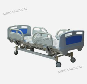 ISO Certificate Economical Hospital Bed, Five Functions Electric Medical ICU Bed pictures & photos