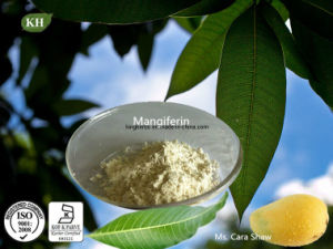 Water Soluble Mangiferin 90%, 98% by HPLC Mango Leaf Extract Powder pictures & photos