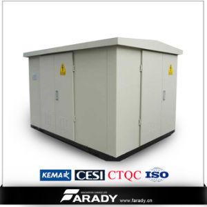 15kv 17.5kv 630kVA Prefabricated Compact Substation Transformer Kiosk Type Transformer pictures & photos