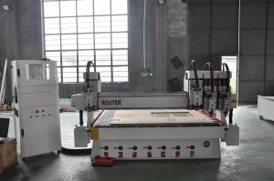 2030 Multiheads CNC Router with 4 Heads pictures & photos