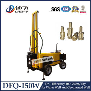 150m Depth Air Compressor Water Well Drill Machine pictures & photos