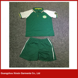 Guangzhou Factory Wholesale Good Quality School Uniform Clothes Maker for Sports (U26) pictures & photos