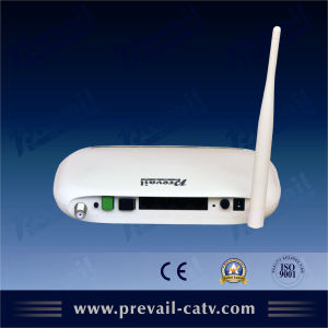 ONU CATV Receiver Ethernet Over Coaxial Cable Device pictures & photos