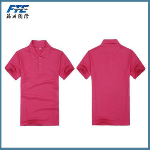 Customized High Quality Polo Shirt with Logo pictures & photos