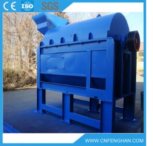 Ks-6 10-15t/H Drum Rotory Coconut Palm Husk Fiber Separating and Open Machine pictures & photos