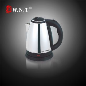Cordless Stainless Steel Electric Water Kettle (ET606)