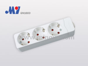 3 Ways German Socket W/O Cable (GN1603)