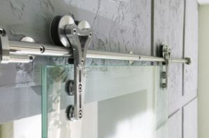 Sliding Bathroom Glass Door (PR-D58) pictures & photos